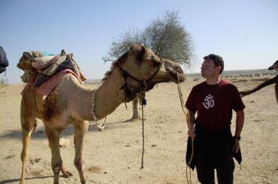 Mon copain le chameau / Jaisalmer - Desert d'Agra - Frontière indo pakistanaise